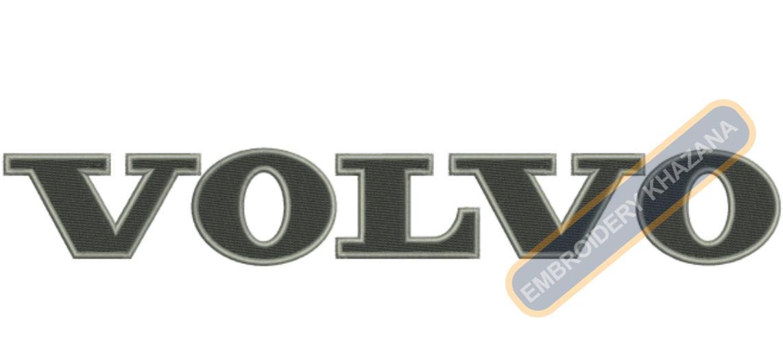 Volvo Logo Embroidery Designs