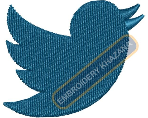 Twitter Birds Logo Embroidery Designs