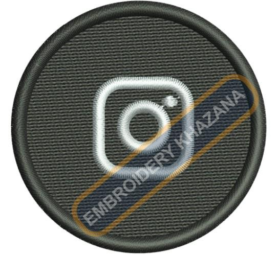 Instagram Logo Embroidery Designs