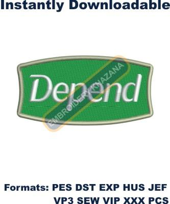 1494831112_Depend logo embroidery designs.jpg
