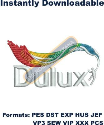 Dulux Logo Embroidery Designs