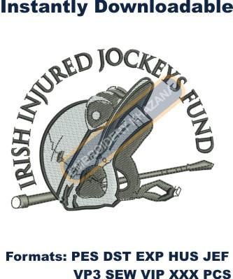 IRISH INJURED JOCKEYS FUND embroidery