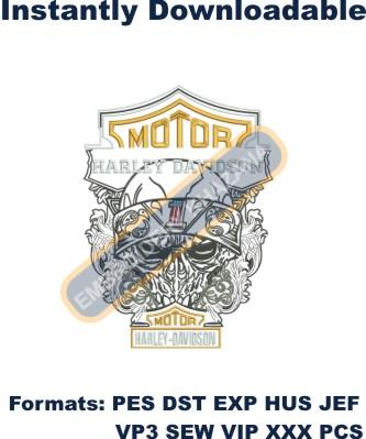 1494848983_Motor Harley Davidson Cycle Logo Embroidery Design.jpg