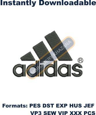 Adidas Logo Embroidery Designs