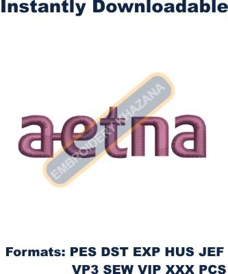 Aetna Logo Embroidery Designs