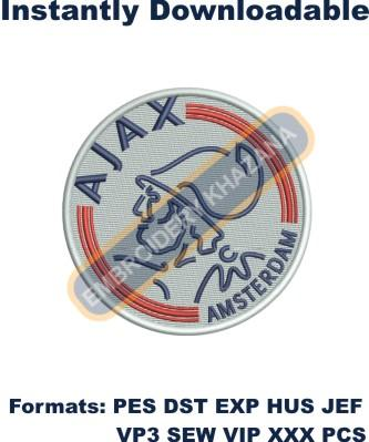 AFC Ajax Logo Embroidery Designs