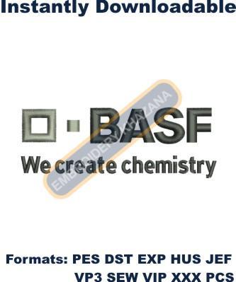 BASF Logo Embroidery Designs