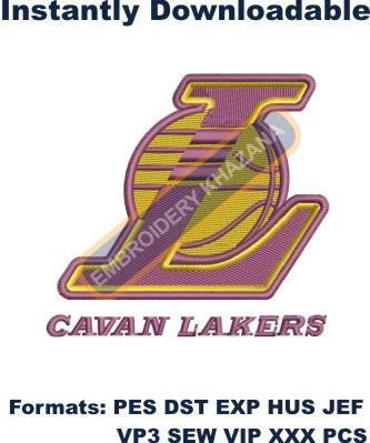 Cavan Lakers Logo Embroidery Designs