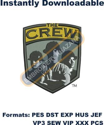 Columbus Crew Logo Embroidery Designs