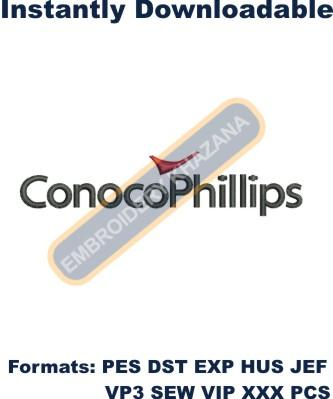 ConocoPhillips Logo Embroidery Designs