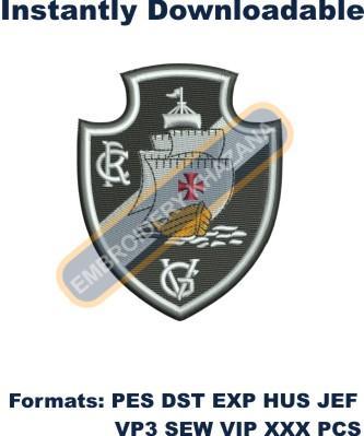 CR Vasco da Gama Logo Embroidery Designs