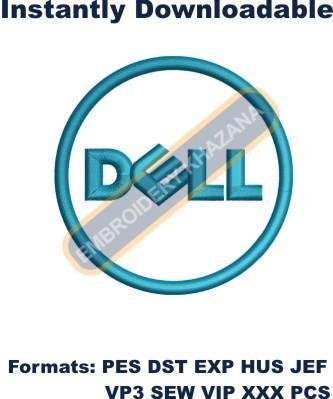 Dell Logo Embroidery Designs