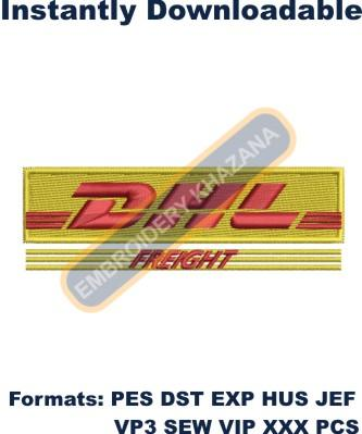 DHL Freight Embroidery Designs