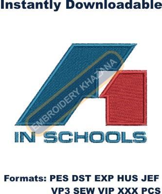 F1 In Schools Embroidery Designs