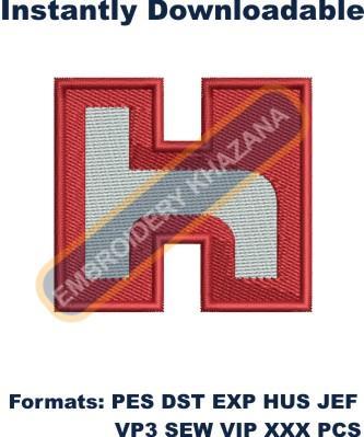 Hon Hai Precision Logo Embroidery Designs