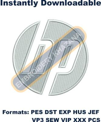 Hp Logo Embroidery Designs