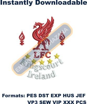 Liverpool FC Logo Embroidery Designs