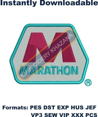 Marathon Petroleum Corporation Logo Embroidery Designs