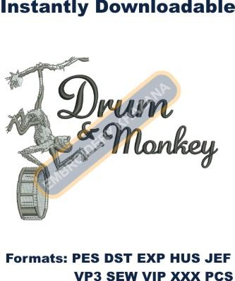 1495791858_Monkey with drum embroidery designs.jpg