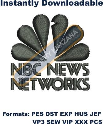 NBC News Logo Embroidery Designs
