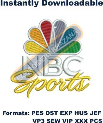NBC Sports Logo Embroidery Designs