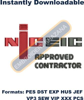 NICEIC Logo Embroidery Designs