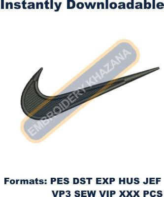 Nike Logo Embroidery Designs