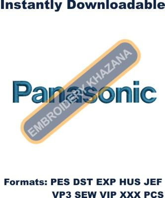 Panasonic Logo Embroidery Designs