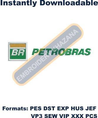 Petrobras Logo Embroidery Designs