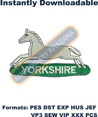 Prince of Wales Own Regiment of Yorkshire badge
