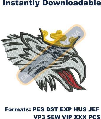 Scania Eagle Logo Embroidery Designs