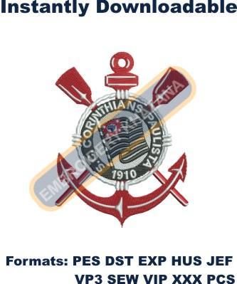 Sport Club Corinthians Paulista Logo Embroidery Designs