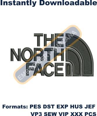 The North Face Embroidery Designs