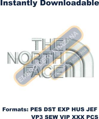 The North Face Logo Embroidery Designs