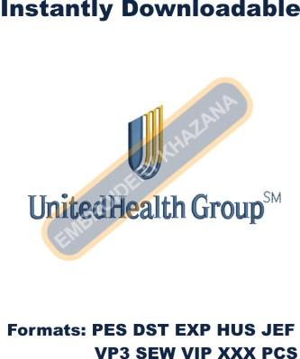 UnitedHealth Group Logo Embroidery Designs