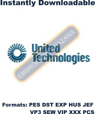 United Technologies Logo Embroidery Designs