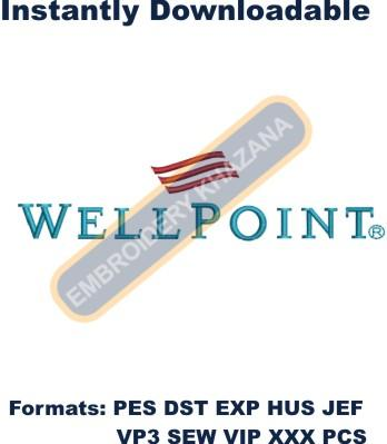 WellPoint Logo Embroidery Designs