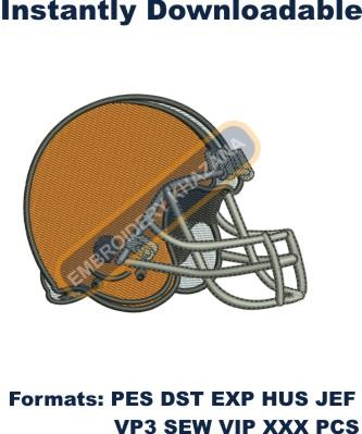Cleveland Browns Logo embroidery design
