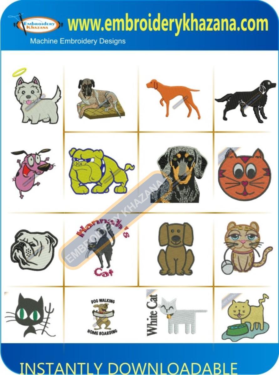 DOG CAT DESIGNS PACK