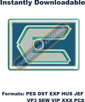 calgary canucks logo embroidery design