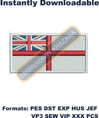 designs uk england flag embroidery design