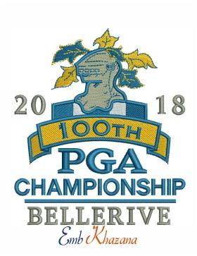 2018 pga championship bellerive logo