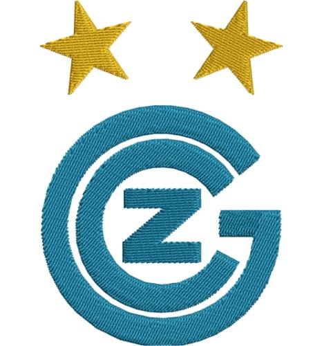 Grasshopper Club Zurich Logo Embroidery Designs