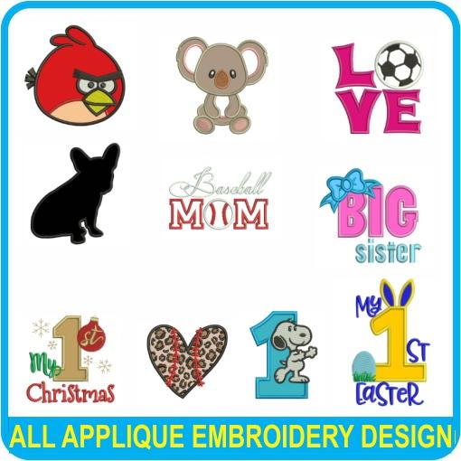 All Applique Designs