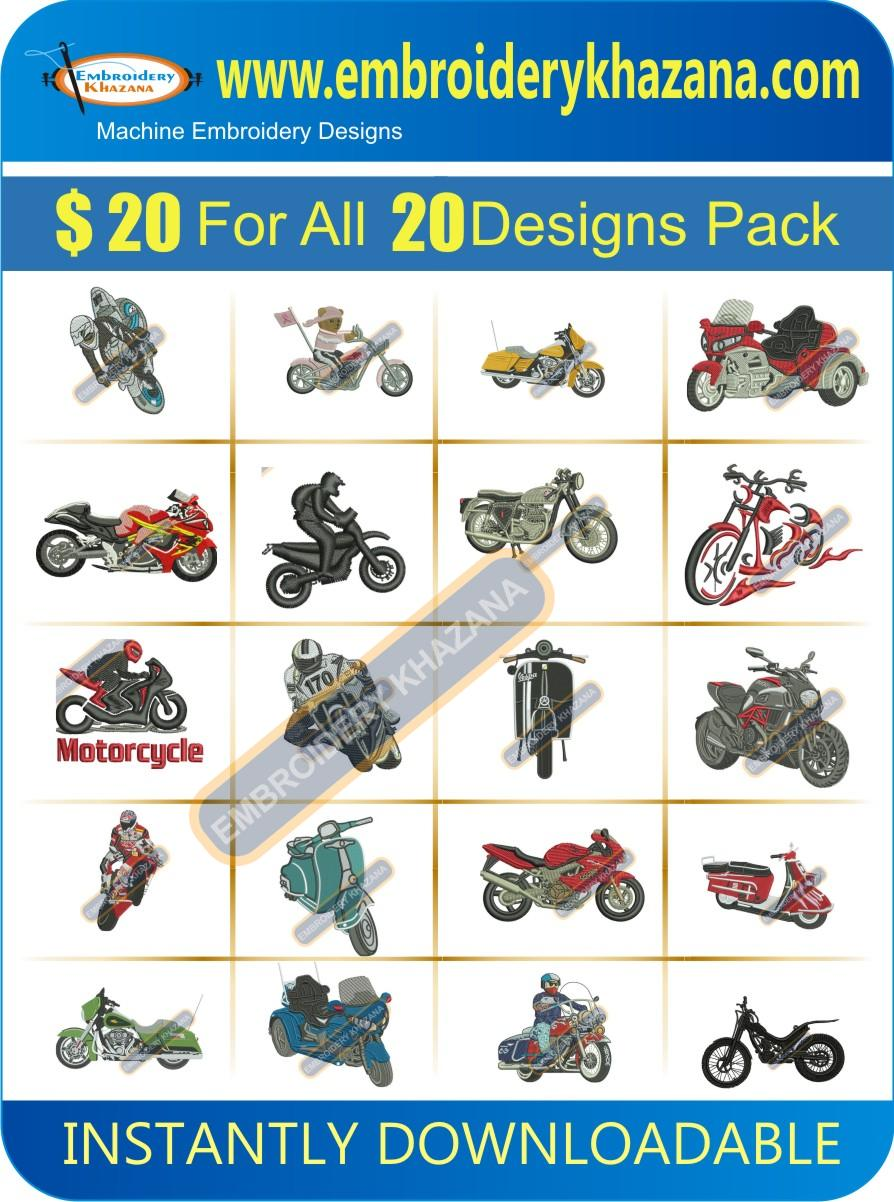 BIKE DESIGNS PACK 3