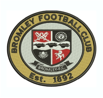 Bromley Football Club Embroidery Design