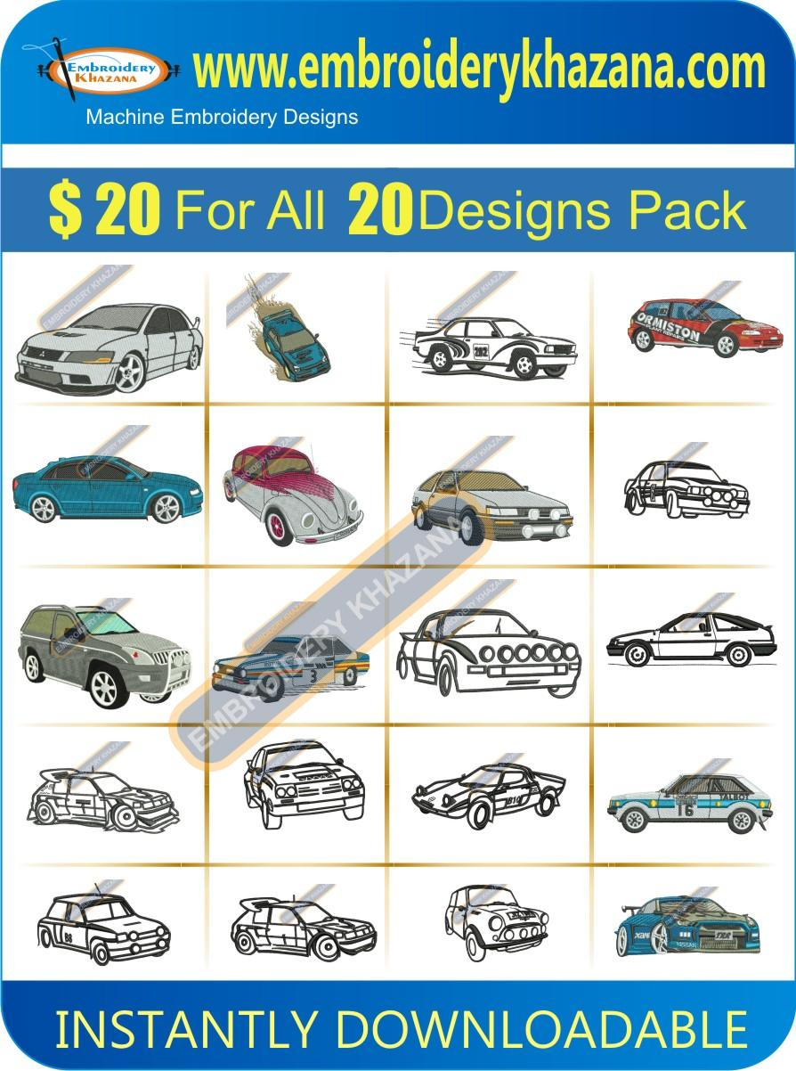 CAR DESIGNS PACK 5