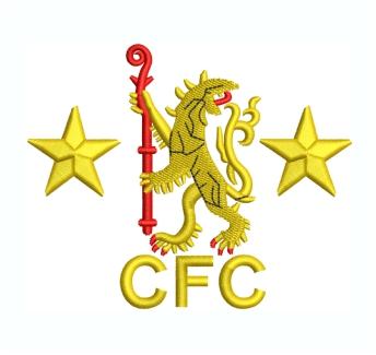 Chelsea Football Club Logo Embroidery Design
