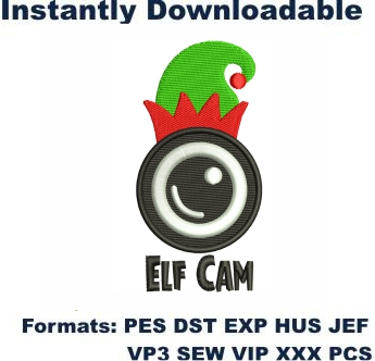 Elf Cam Embroidery Designs