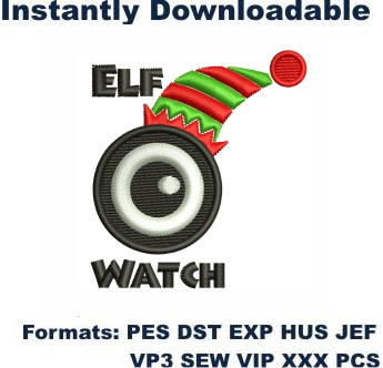 Elf Watch Embroidery Designs